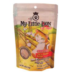 Waggers My Little Lion Grain Free Lickin Chicken Cat Treats