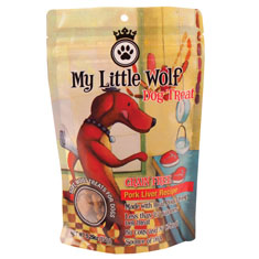 Waggers My Little Wolf Grain Free Pork Liver Dog Treats
