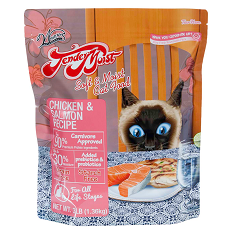 Waggers TenderMoist Chicken and Salmon Cat Food
