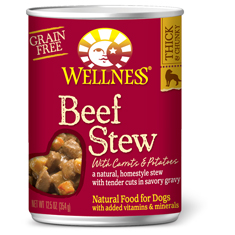 Wellness Beef Stew with Carrots and Potatoes