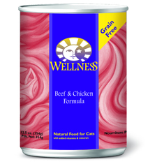 Wellness Cat Canned Beef and Chicken Recipe