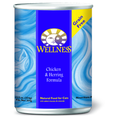 Wellness Cat Canned Chicken and Herring Recipe