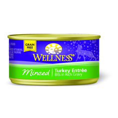 Wellness Cat Canned Minced Turkey Recipe