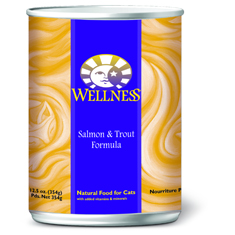 Wellness Cat Canned Salmon and Trout Recipe