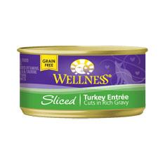 Wellness Cat Canned Sliced Turkey Recipe
