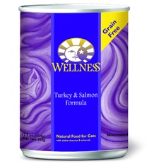 Wellness Cat Canned Turkey and Salmon Recipe