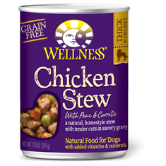 Wellness Chicken Stew with Peas and Carrots