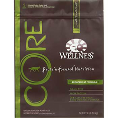 Wellness CORE Reduced Fat Adult Dog Food