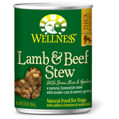 Wellness Lamb and Beef Stew with Brown Rice and Apples