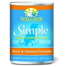 Wellness Simple Solutions Duck and Oatmeal Cans