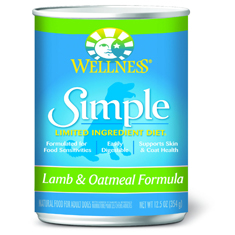 Wellness Simple Solutions Lamb and Oatmeal Cans