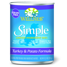 Wellness Simple Solutions Turkey and Potato Cans