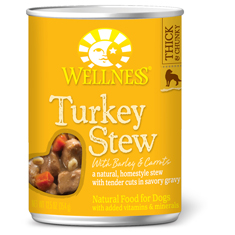 Wellness Turkey Stew with Barley and Carrots