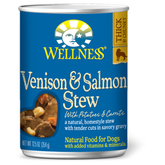 Wellness Venison and Salmon Stew