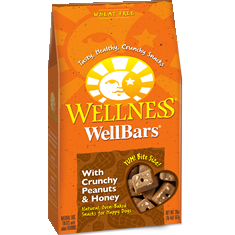 Wellness WellBars Crunchy Peanut and Honey