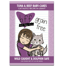 Weruva BFF Tuna and Beef Baby Cakes Pouch