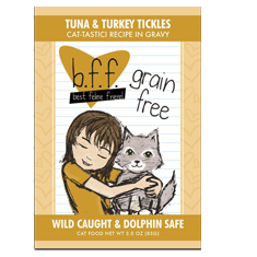 Weruva BFF Tuna and Turkey Tickles Pouch