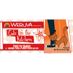 Weruva Cats in the Kitchen Two Tu Tango Cans