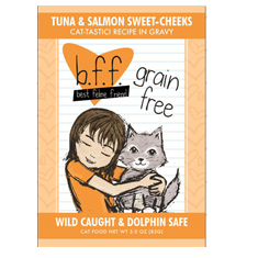 Weruva BFF Tuna and Salmon Sweet Cheeks Pouch