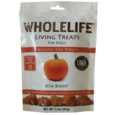 Whole Life Living Treats Pumpkin Beta Boost