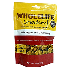 Whole Life Pet Products Unbaked Apple Cranberry