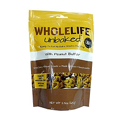 Whole Life Pet Products Unbaked Peanut Butter Molasses