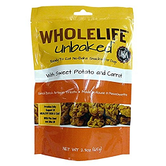 Whole Life Pet Products Unbaked Sweet Potato Carrot