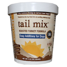 Whole Life Tail Mix Easy Additions Turkey Dog Food Topper