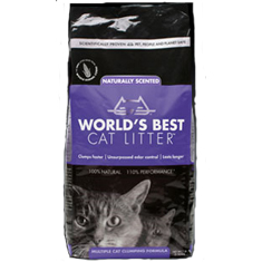 Worlds Best Cat Litter Scented Multiple Cat Clumping Formula