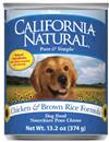 California Natural Chicken and Brown Rice Formula Canned Dog Food