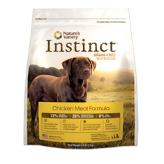 Natures Variety Instinct Chicken Dog Food