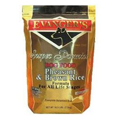 Evangers Pheasant and Brown Rice Dry Dog Food