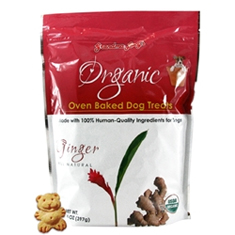 Grandma Lucys Organic Ginger Dog Treats