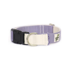 Wagging Green Eco Hip Lilac Natural Collar and Leash