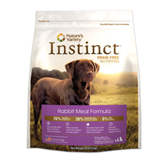 Natures Variety Instinct Rabbit Dog Food