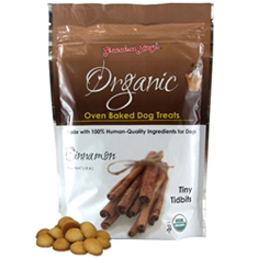 Grandma Lucys Organic Cinnamon Dog Treats