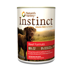 Natures Variety Instinct Beef Formula Canned Dog Food