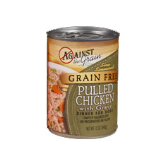 Evangers Against the Grain Pulled Chicken Canned Dog Food