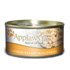 APPLAWS Chicken Breast with Cheese Cat Cans