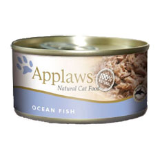 APPLAWS Ocean Fish Cat Cans