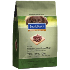 Back to Basics Grain Free Turkey Formula Dry Dog Food
