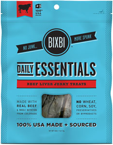 Bixbi Daily Essentials Beef Liver