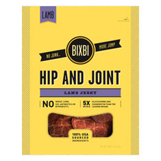 Bixbi Hip and Joint Lamb Jerky Treats