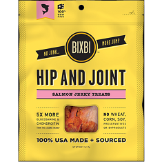 Bixbi Hip and Joint Salmon Jerky Treats