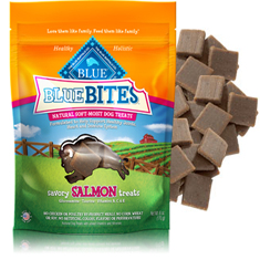 Blue Buffalo Bites Savory Salmon Natural Soft-Moist Dog Treats