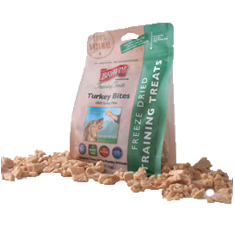 Bravo Freeze Dried Turkey Bites Training Treats
