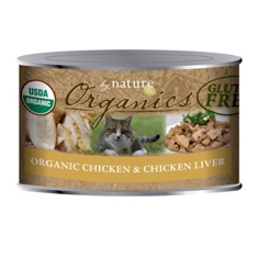By Nature Organic Chicken and Chicken Liver Cat Cans