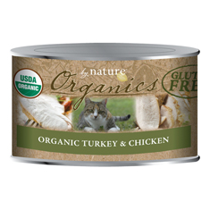 By Nature Organic Turkey and Chicken Cat Cans