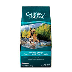 California Natural Grain Free Salmon and Pea Dry Dog Food