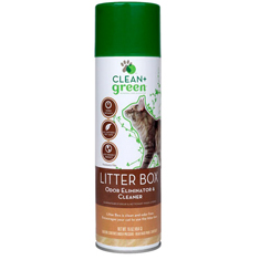 Clean and Green Cat Litter Box Odor Remover